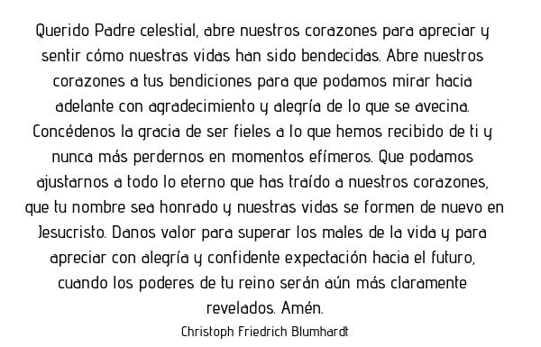 Oración del día viernes 21